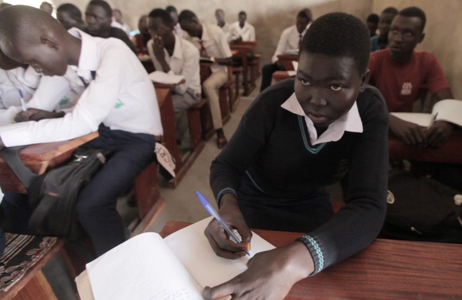 Greenbelt Academy students in classroom
