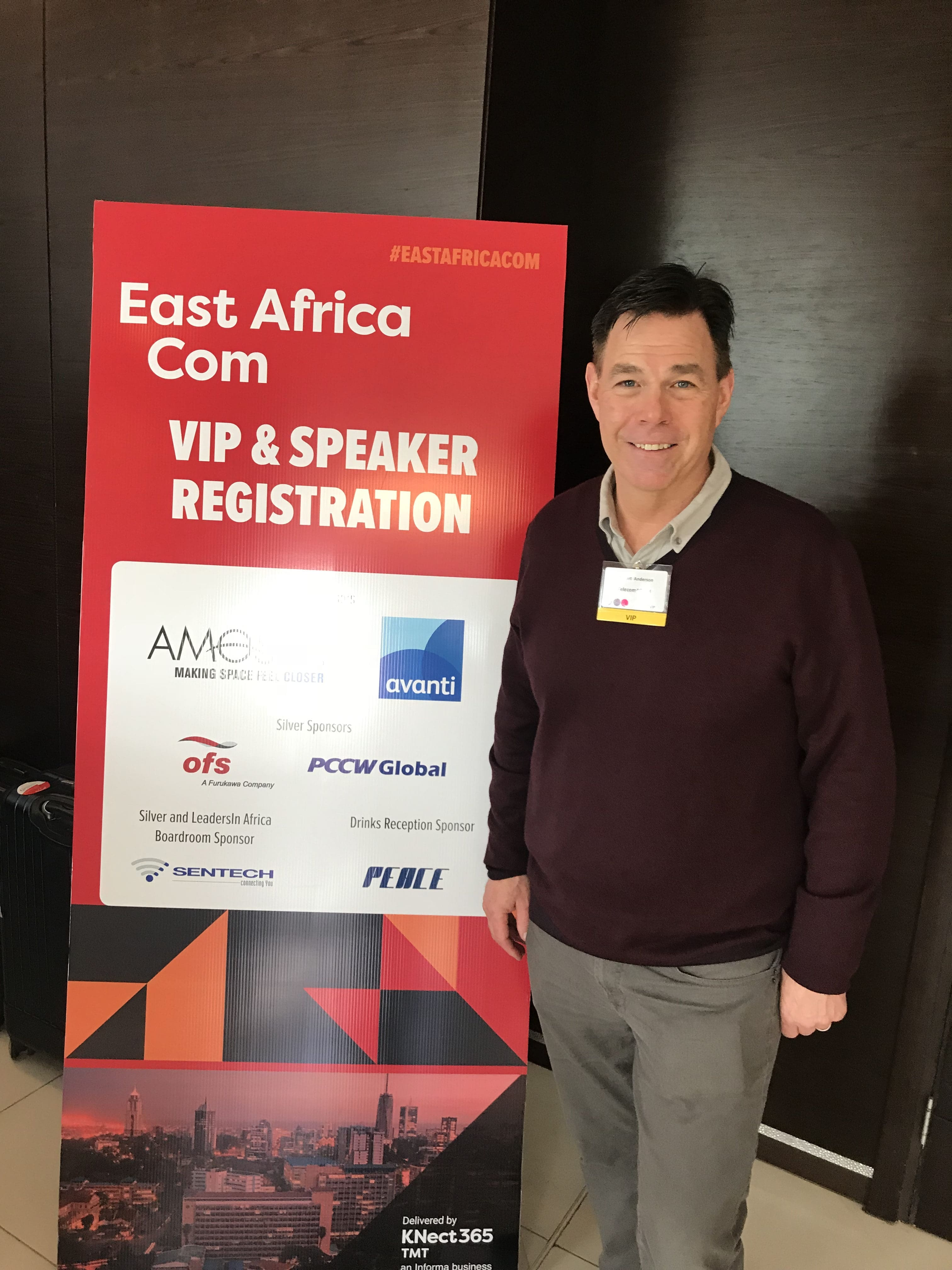 Telecom4Good Founder at East Africa Conference