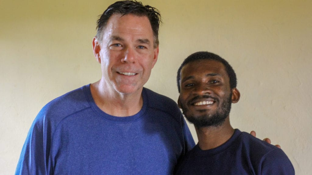 Colleagues in Nakivale Refugee Settlement